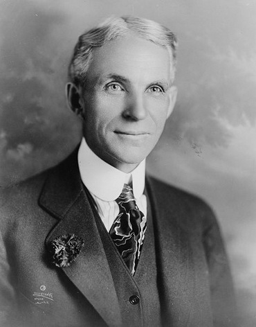 American Industrialist Founder And Owner Of FORD MOTOR COMPANY